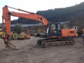 Fiat Hitachi Excavators Used Fiat Hitachi Ex200 3 Crawler Excavators Year 2000