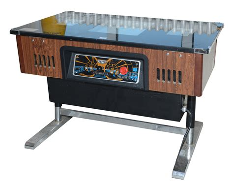 Coffee Table Arcade Taito Space Invaders Arcade Machine A Coffee Table Arcade Machine With Controls On Both Sides Fo