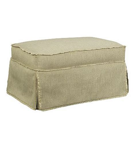 skirted ottoman emory made to measure skirted ottoman from the suzanne