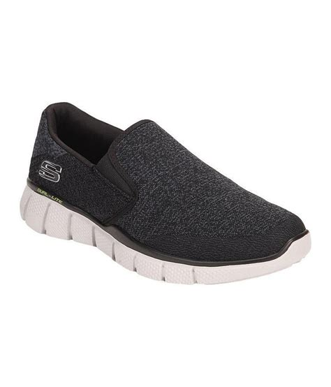 skechers black slip on shoes price in india buy skechers