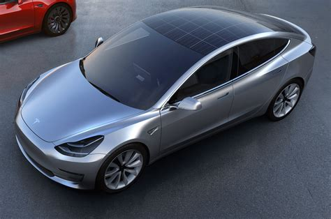 tesla inside roof tesla model 3 with solar roof option push evs