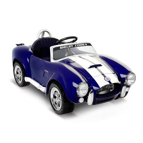 kid car shelby cobra 427 to return as kid sized electric car