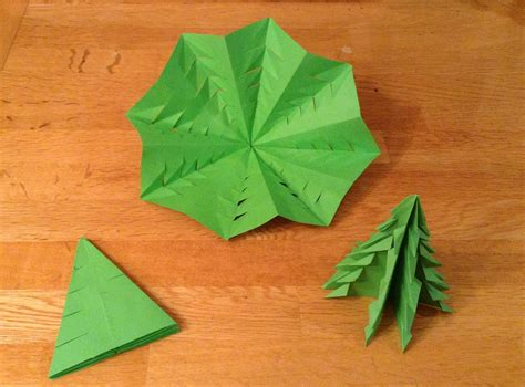 Tree Origami - origami trees writermummy
