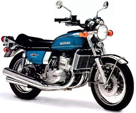 Classic Suzuki Parts 1976 Suzuki Gt750a Classic Motorcycle Guide