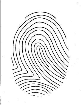 fingerprint template fingerprint poetry writing template grades 4 12 unique