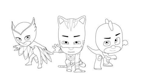 printable coloring pages pj masks pj masks coloring pages to download and print for free