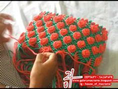 Tas Handbag Bunga motif tas tali kur terbaru macrame macramania 4 macrame bag