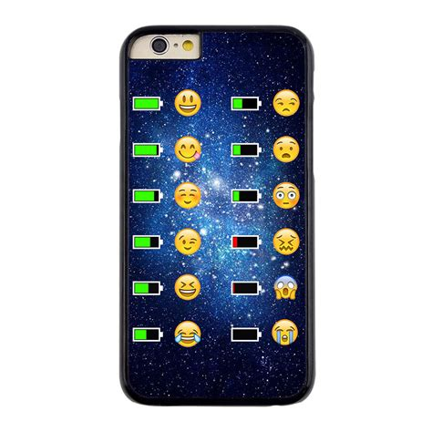 Smile List Chrome Iphone 6 Plus 6s Plus Gold emoji battery charge image cover for iphone