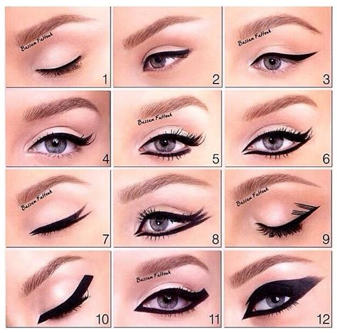 7 Of Applying Mascara The Right Way by Ways To Apply Eyeliner 12 Different Ways To Apply