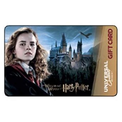 Harry Potter Gift Card - your wdw store universal collectible gift card harry potter hermione granger