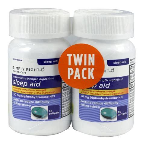 sleep aid equate nighttime sleep aid 25 mg 100 mini