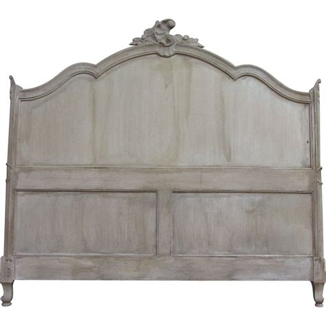 louis xv headboard antique french louis xv rococo queen size headboard from