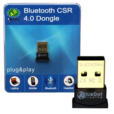 Bluetooth Dongle Mini V 4 0 mini bluetooth csr 4 0 usb 2 0 csr4 0 dongle adapter for