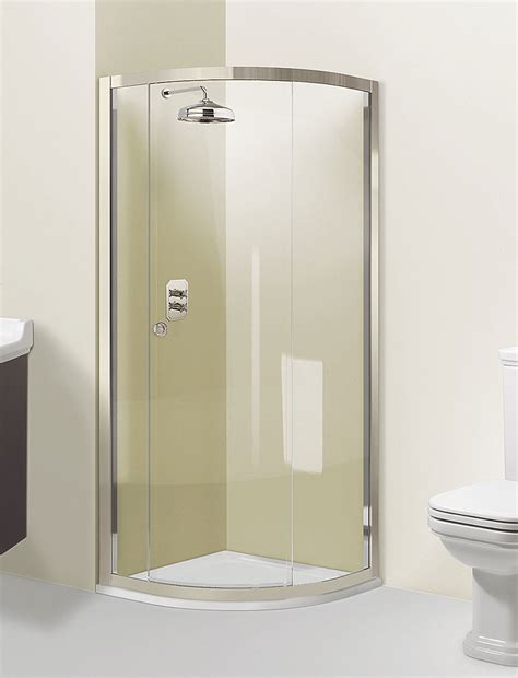 Single Door Shower Enclosure Arcade Quadrant Single Door Shower Enclosure In Quadrant Luxury Bathrooms Uk Crosswater Holdings