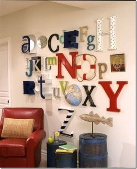 Wall Decoration For Nurseries And Children S Rooms Letters For Rooms