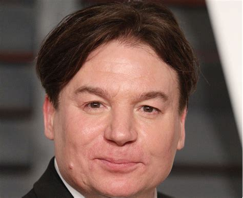 mike myers name austin powers mike myers has white hair at white house