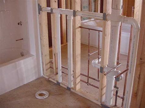 bathroom rough plumbing pin plumbing riser diagram on pinterest