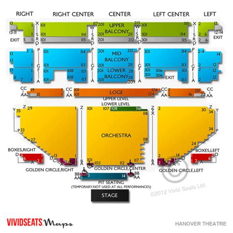 worcester palladium seating chart hanover theatre seating chart seats