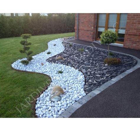 le pour jardin exterieur jardin avec cailloux p 233 tale ardoise paillette paillis concass 233 massif parterre avec cailloux