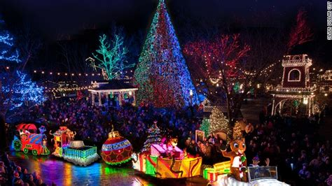where best top view christmas decoration lights in colorado springs best places to see lights from d c to las vegas cnn travel