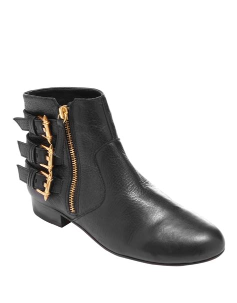 dolce vita ankle boots dolce vita bale leather ankle boots in black black