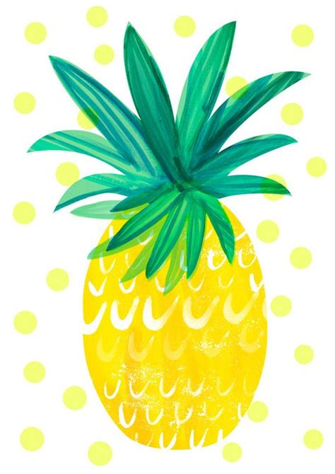 pineapple wallpaper pineapple illustrated yum pinterest pineapple