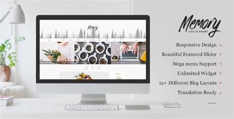 Memory Mobile Friendly Html Template By Pl Theme Themeforest Mobile Friendly Html Template