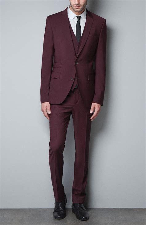 Blazer Zara Maroon zara maroon suit upscalehype upscalehype