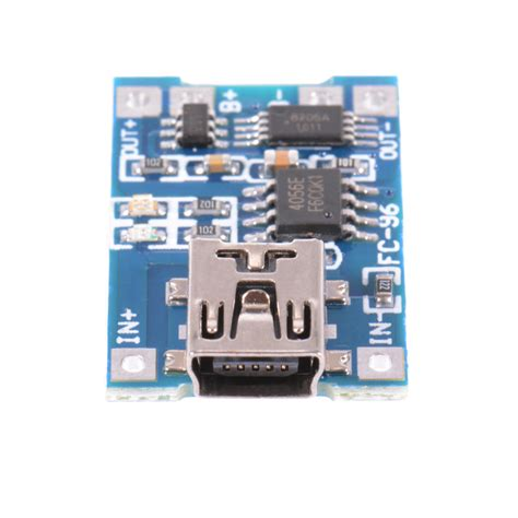Tp4056 Mini Usb To Lithium Battery Charging Module 10pcs tp4056 mini usb 5v 1a lithium battery charging