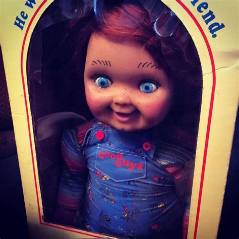 film chucky doll screen film used prop original chucky doll good guy doll