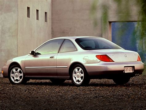acura cl technical specifications and fuel economy