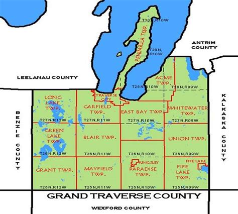 Grand Travers County Detox by Mission Peninsula 171 Every County