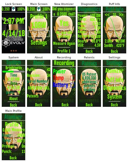 colour themes in breaking bad dna 250c breaking bad theme dna 75 color 250 color