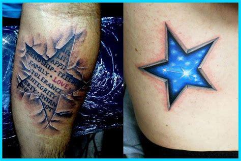 imagenes tatuajes en 3d tatuajes de estrellas en 3d mejores tatuajes de estrellas