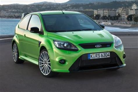 ford rs: a history of the fastest fords escort to focus