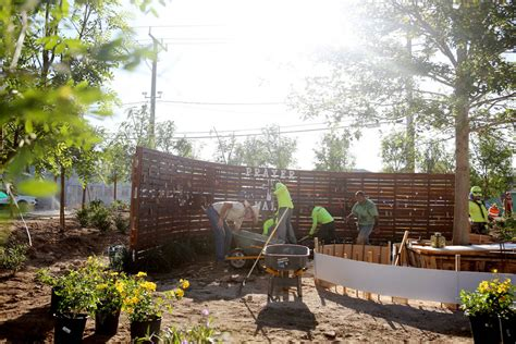 Chs Gardens Mall by Las Vegas Businesses Volunteers Build Memorial Garden For