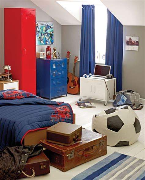 boys bedroom ideas football 40 teenage boys room designs we love