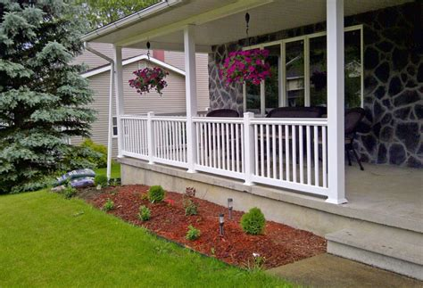 front porch banisters diy front porch railing interesting ideas for home