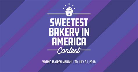 usa contest vote now sweetest bakery in america contest