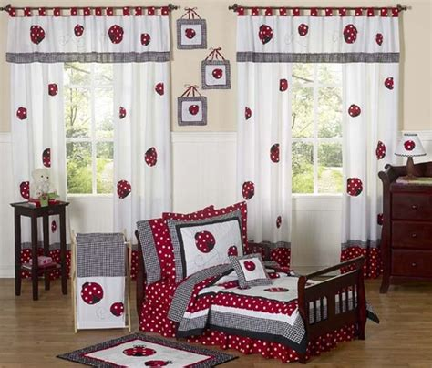 red and white polka dot comforter red and white polka dot ladybug toddler bedding 5 pc set
