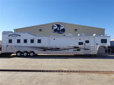 boat trailer stores near me blmr5h20otlwsld bunk 2015 bloomer 5 horse 20 outlaw lq