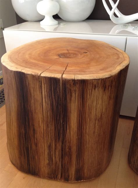 wood stump end table wood stump end table diy tables concurcuma com