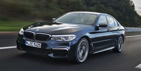 model bmw bmw announced pricing for the new bmw 5 series model range