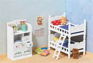 calico critters children s bedroom with bunk beds