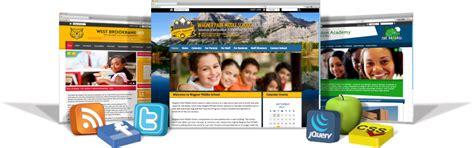pattern school website school website design schoolmessenger
