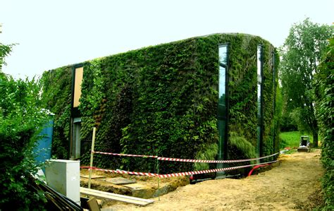 house vertical garden blanc