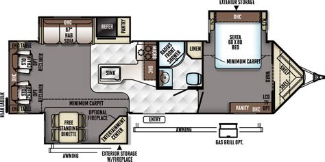 fuzion floor plans flagstaff v lite travel trailers flagstaff v lite travel trailers floor plans