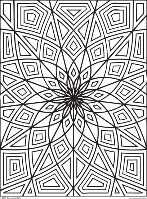 Abstract Coloring Pages Printable by Abstract Coloring Pages For Adults Coloring Home