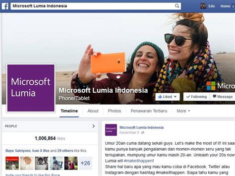 Microsoft Lumia Indonesia akun dan windows phone ganti nama jadi