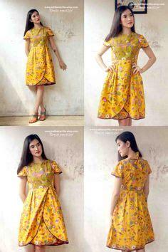 Dress Batik Davina Ll Harga Murah rok batik 2 rok batik